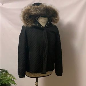 BURBERRY LONDON QUILTED PUFFER JACKET SIZE XS